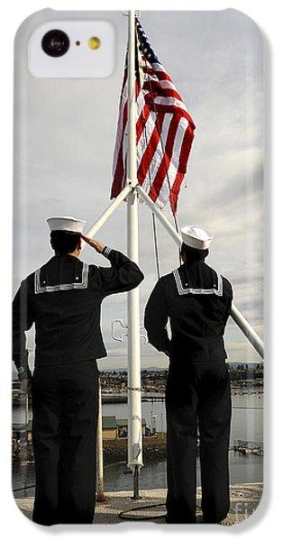 Sailors Raise The National Ensign IPhone 5c Case