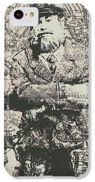 Navigation iPhone 5c Case - Sailors Vintage Adventure by Jorgo Photography - Wall Art Gallery