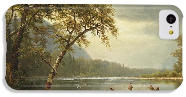 Salmon Fishing On The Caspapediac River IPhone 5c Case