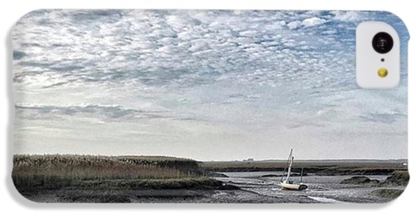 Salt Marsh And Creek, Brancaster IPhone 5c Case by John Edwards