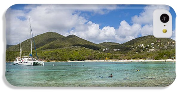 IPhone 5c Case featuring the photograph Salt Pond Bay Panoramic by Adam Romanowicz