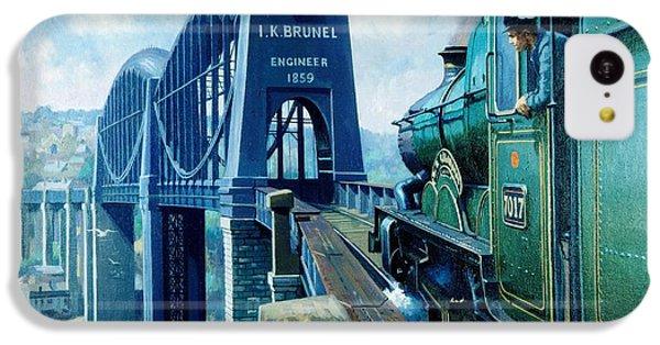 Saltash Bridge. IPhone 5c Case by Mike  Jeffries