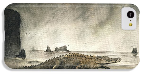 Saltwater Crocodile IPhone 5c Case