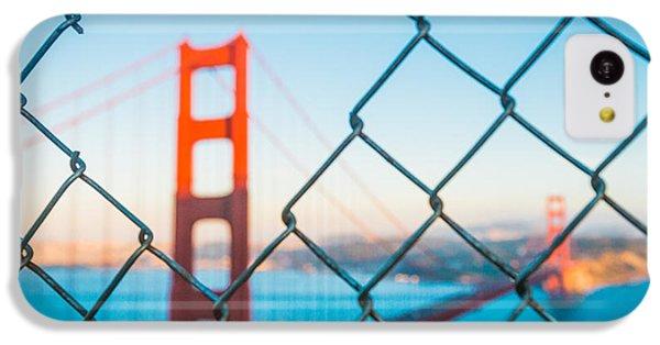 San Francisco Golden Gate Bridge IPhone 5c Case by Cory Dewald