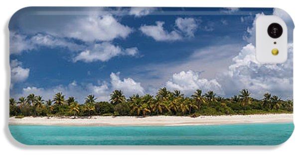 IPhone 5c Case featuring the photograph Sandy Cay Beach British Virgin Islands Panoramic by Adam Romanowicz