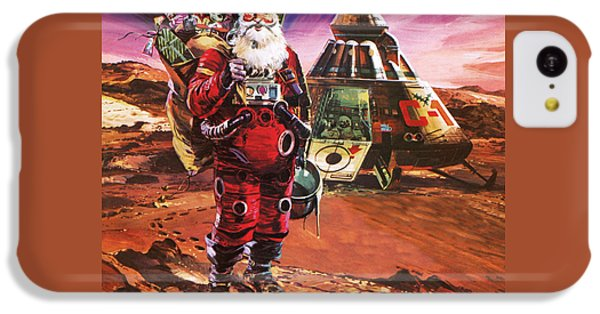 Santa Claus On Mars IPhone 5c Case by English School