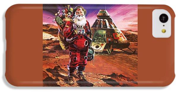 Santa Claus On Mars IPhone 5c Case by English School