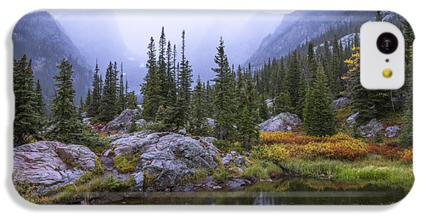 Mountain iPhone 5c Case - Saturated Forest by Chad Dutson