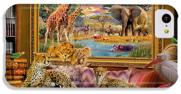 Cheetah iPhone 5c Case - Savannah Coming To Life by Jan Patrik Krasny