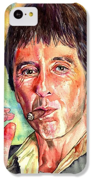 Harlem iPhone 5c Case - Scarface by Suzann's Art