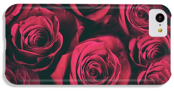 IPhone 5c Case featuring the photograph Scarlet Roses by Jessica Jenney