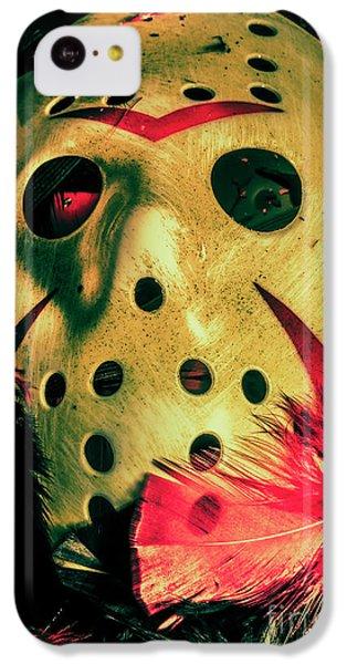 Hockey iPhone 5c Case - Scene From A Fright Night Slasher Flick by Jorgo Photography - Wall Art Gallery