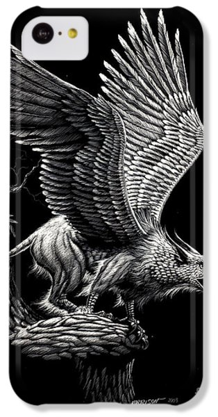 Screaming Griffon IPhone 5c Case by Stanley Morrison