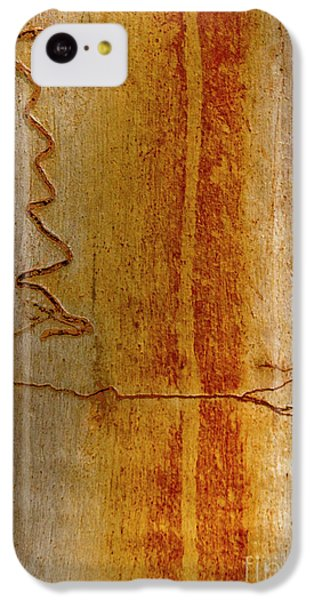 IPhone 5c Case featuring the photograph Scribbly Gum Bark by Werner Padarin