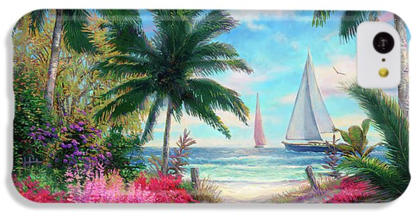 Jazz iPhone 5c Case - Sea Breeze Trail by Chuck Pinson