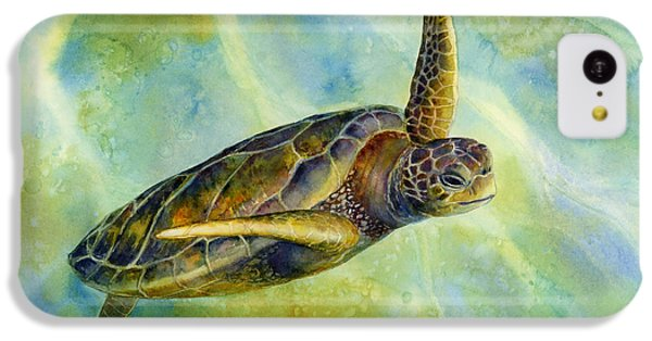 Turtle iPhone 5c Case - Sea Turtle 2 by Hailey E Herrera