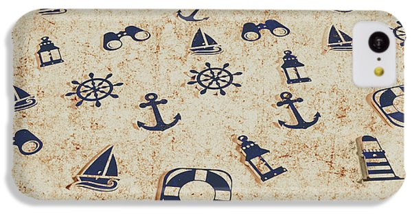 Navigation iPhone 5c Case - Seafaring Antiques by Jorgo Photography - Wall Art Gallery