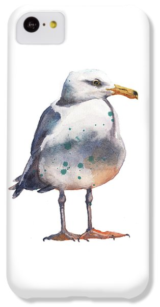 Seagull Print IPhone 5c Case by Alison Fennell