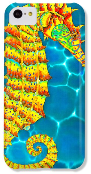 Seahorse iPhone 5c Case - Seahorse - Exotic Art by Daniel Jean-Baptiste