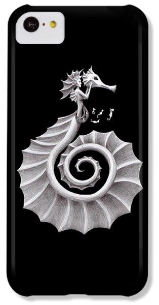 Seahorse Siren IPhone 5c Case by Sarah Krafft