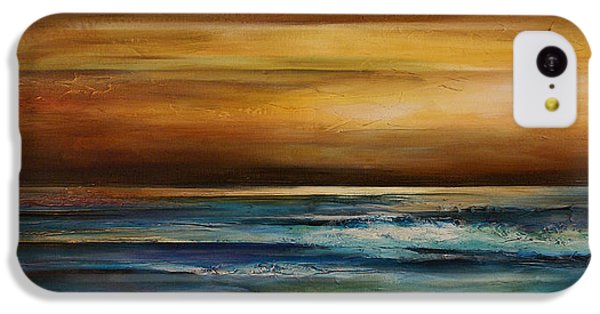 Ocean Sunset iPhone 5c Case - Seascape 1 by Michael Lang