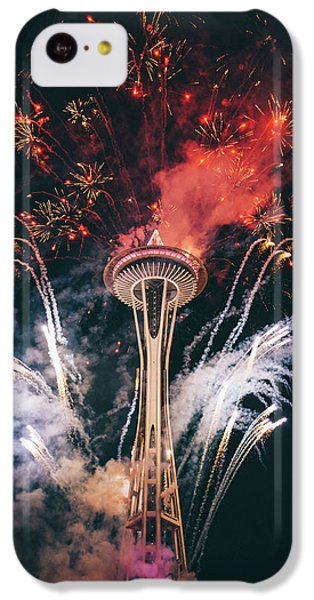 Seattle IPhone 5c Case by Happy Home Artistry