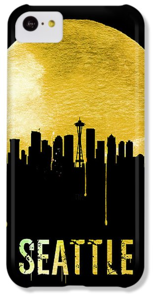 Seattle Skyline Yellow IPhone 5c Case