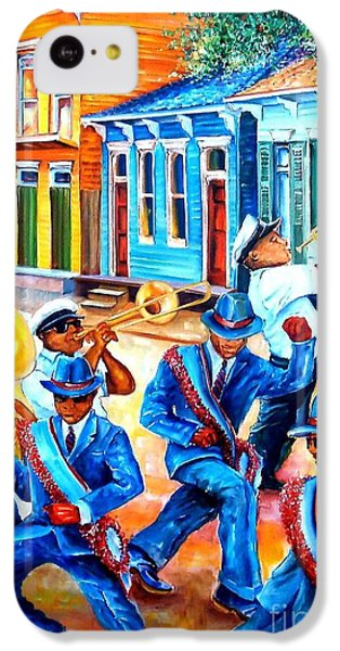 Trombone iPhone 5c Case - Second Line In Treme by Diane Millsap