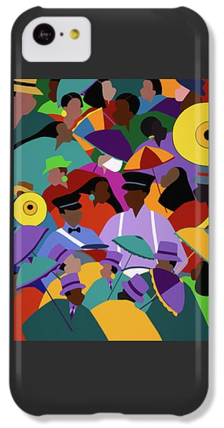 iPhone 5c Case - Second Line New Orleans by Synthia SAINT JAMES