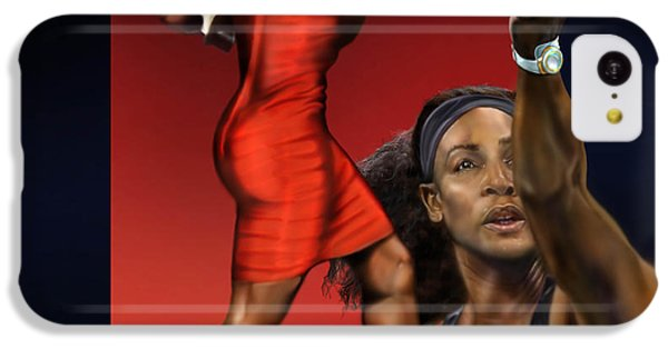 Sensuality Under Extreme Power - Serena The Shape Of Things To Come IPhone 5c Case by Reggie Duffie