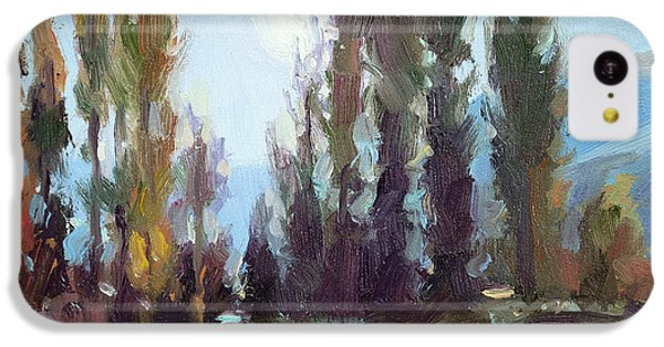 Impressionism iPhone 5c Case - September Moon by Steve Henderson