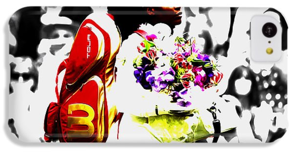 Serena Williams 2f IPhone 5c Case by Brian Reaves