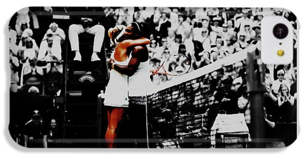Serena Williams And Angelique Kerber IPhone 5c Case by Brian Reaves