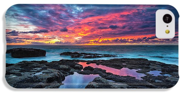 Landscape iPhone 5c Case - Serene Sunset by Robert Bynum