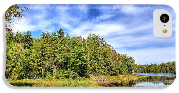 IPhone 5c Case featuring the photograph Serenity On Bald Mountain Pond by David Patterson