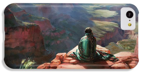 Grand Canyon iPhone 5c Case - Serenity by Steve Henderson