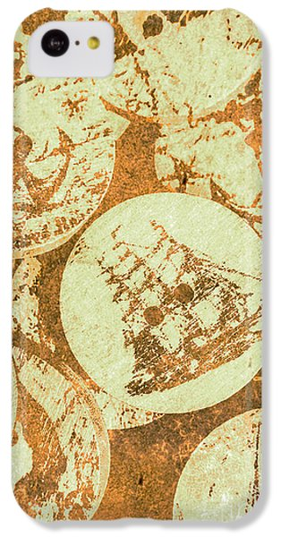 Navigation iPhone 5c Case - Sewing Sails by Jorgo Photography - Wall Art Gallery
