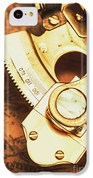 Navigation iPhone 5c Case - Sextant Sailing Navigation Tool by Jorgo Photography - Wall Art Gallery