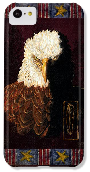 Eagle iPhone 5c Case - Shadow Eagle by JQ Licensing