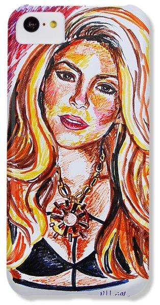 Shakira iPhone 5c Case - Shakira by Viktoryia Lavtsevich