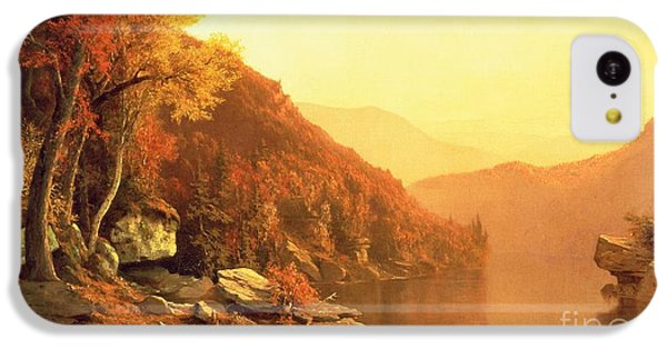Fruits iPhone 5c Case - Shawanagunk Mountains by Jervis McEntee