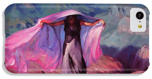 Grand Canyon iPhone 5c Case - She Danced By The Light Of The Moon by Steve Henderson
