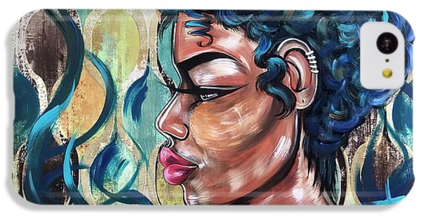 iPhone 5c Case - She Was A Cool Flame by Artist RiA
