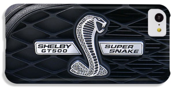 Brown Snake iPhone 5c Case - Shelby Gt 500 Super Snake by Mike McGlothlen