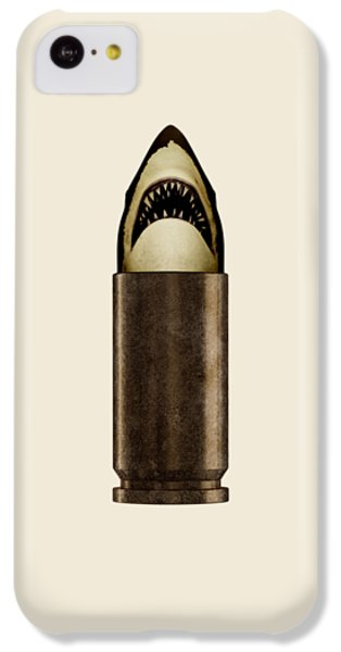 Shell Shark IPhone 5c Case by Nicholas Ely