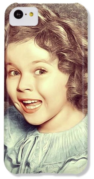 Shirley Temple iPhone 5c Case - Shirley Temple, Actress by Mary Bassett