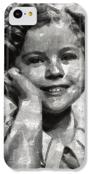 Shirley Temple By Mary Bassett IPhone 5c Case by Mary Bassett