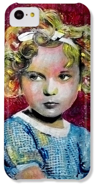 Shirley Temple iPhone 5c Case - Shirley Temple by Marcelo Neira