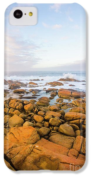 IPhone 5c Case featuring the photograph Shore Calm Morning by Jorgo Photography - Wall Art Gallery