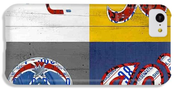 Sport iPhone 5c Case - Shout To #washingtondc #capitals by Design Turnpike